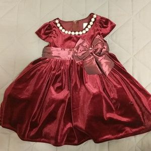 Holiday baby dress